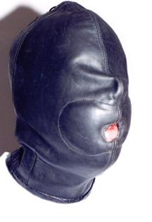 Padded mouth hood