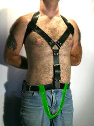 Crotch section for posture restraint system