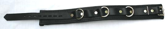 Padded Locking Bondage Collar