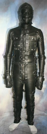 Custom made to measure Bondage Suit