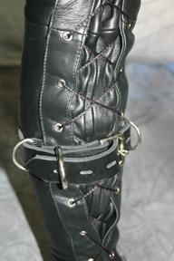 Bondage strap set for our custom bondage suit