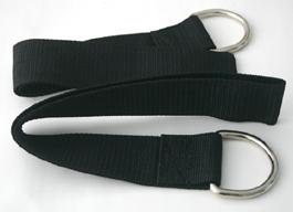 Nylon stirrups for bondage slings
