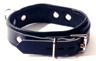 Garment leather lead collar